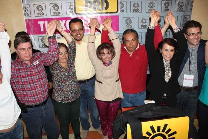 Lorena Cuéllar se declara ganadora
