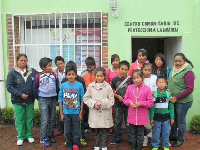 Niños difusores de Xiloxoxtla visitan el CCPI
