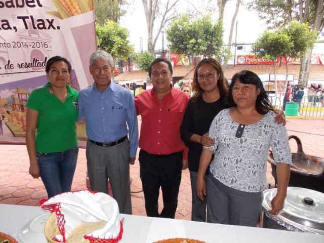 Xiloxoxtla presente en muestra gastronómica de la feria de Tlaxcala