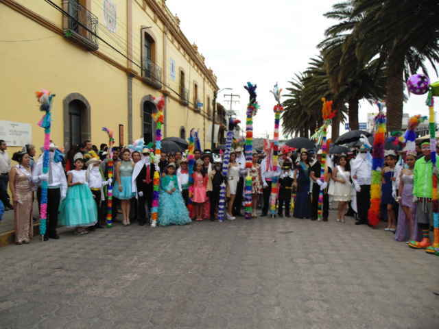 Todo un éxito el Carnaval Amaxac 2016