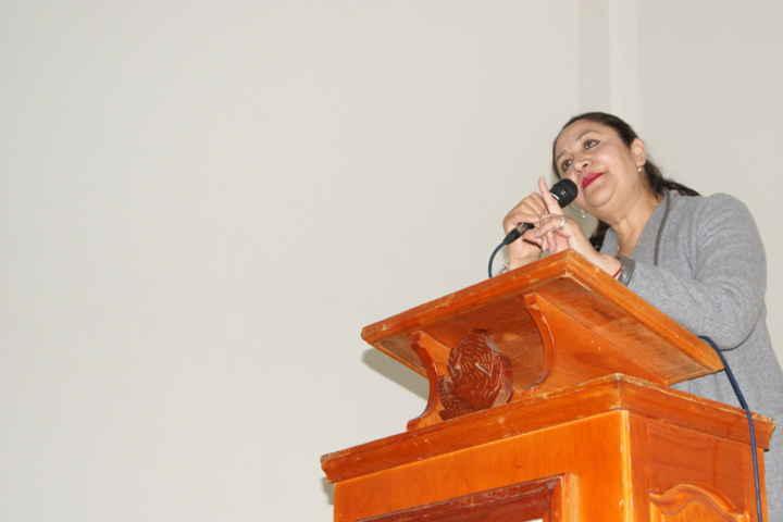Conmemora Lilia Olvera Día Internacional de la Mujer