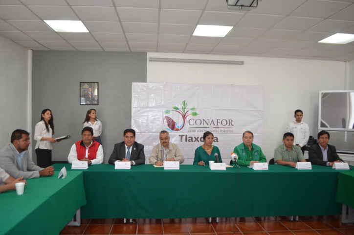 Participa VHR en firma de convenio contra Incendios Forestales