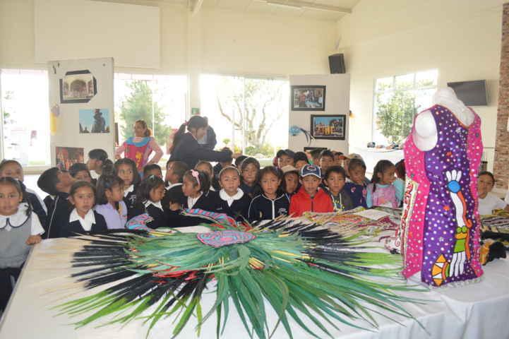 Expo Huehe 2016 abierta al público en Los Cedros, estudiantes apreciaron la muestra