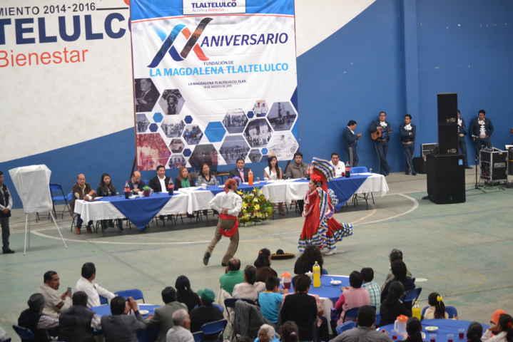 Encabeza Miguel Ángel Polvo celebración por el XX Aniversario de la Municipalización de Tlaltelulco