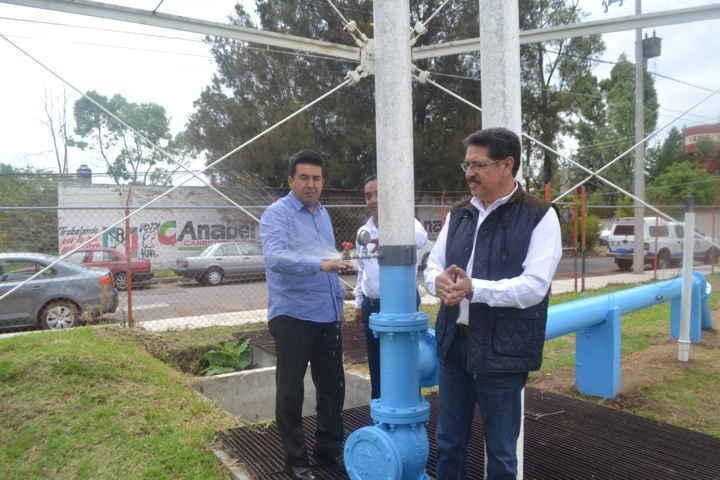 """Habrá mayor suministro y presión de Agua Potable, en las colonias """"Loma Xicohténcatl"""" y """"San Isidro"""""""