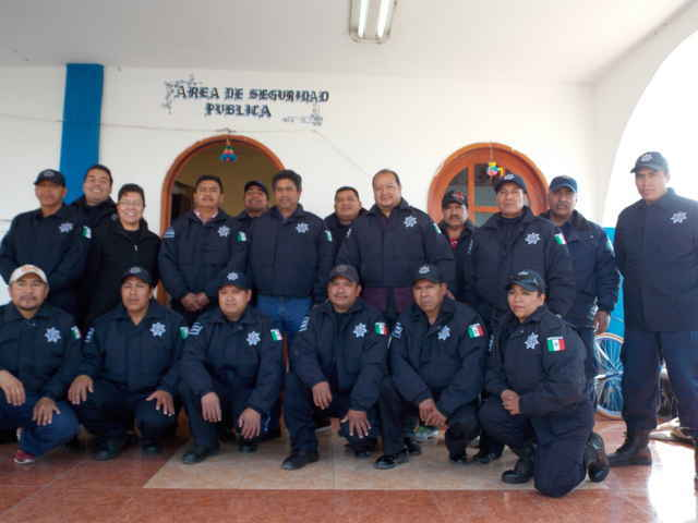 Refuerzan la seguridad pública de Acuamanala