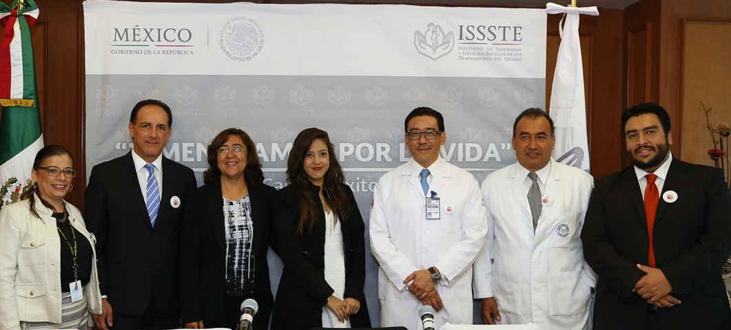 Salva el ISSSTE a joven con complicado trasplante de hígado