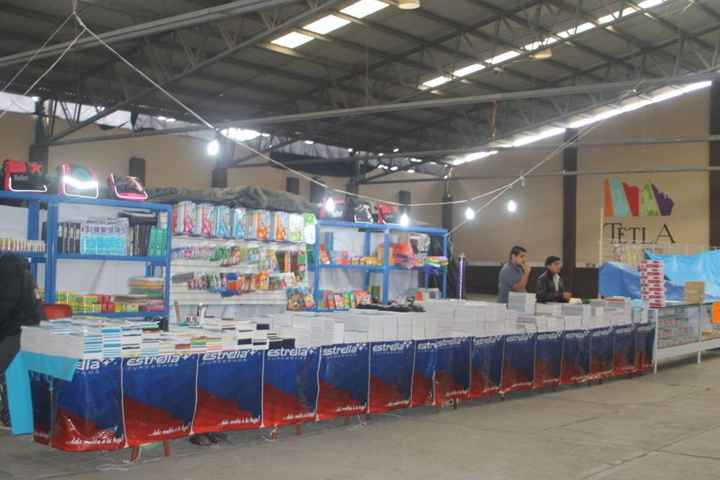 Se lleva a cabo Expo Escolar 2015 en Tetla