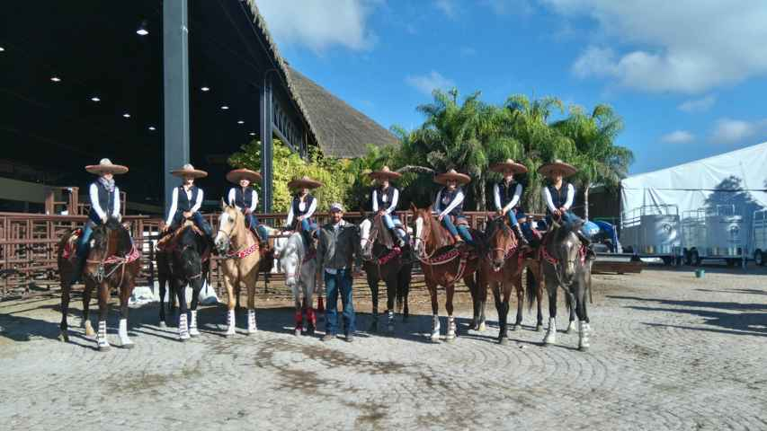 Sigue la actividad en el Nacional charro, Querétaro 2015