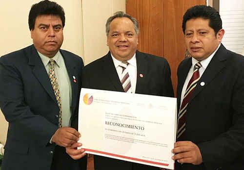 Huamantla recibe reconocimiento del INAFED