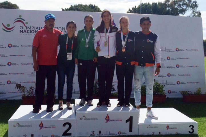 Logran medallas de oro tlaxcaltecas en la Olimpiada Nacional