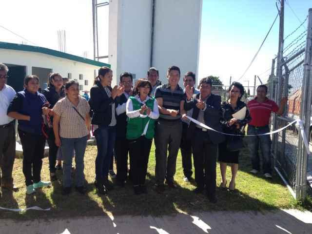 Inaugura Tepeyanco pozo de agua en Tlacochcalco