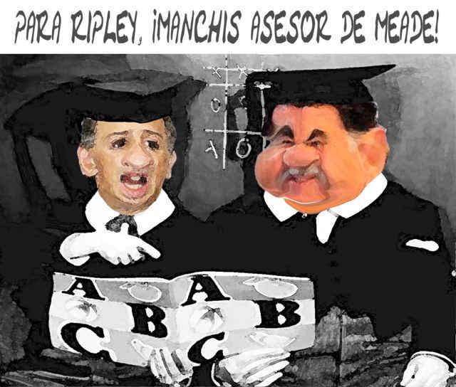 Mariano capacita a Meade... ¡pero para multiplicar a los pobres!