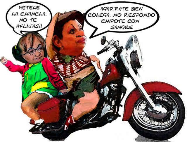 Motociclistas muy originales, tras la Copa Tlaxcala