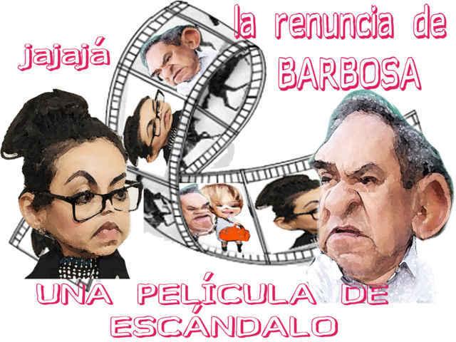 Escándalo, escándalo, ¡la renuncia de Federico Barbosa!