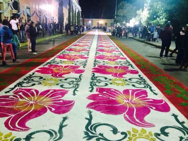 Inicia procesión de la Virgen de la Caridad en Huamantla