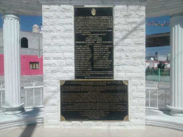 Alcalde de Tetlatlahuca conmemora el XXXI Aniversario de la Comunidad de Portales