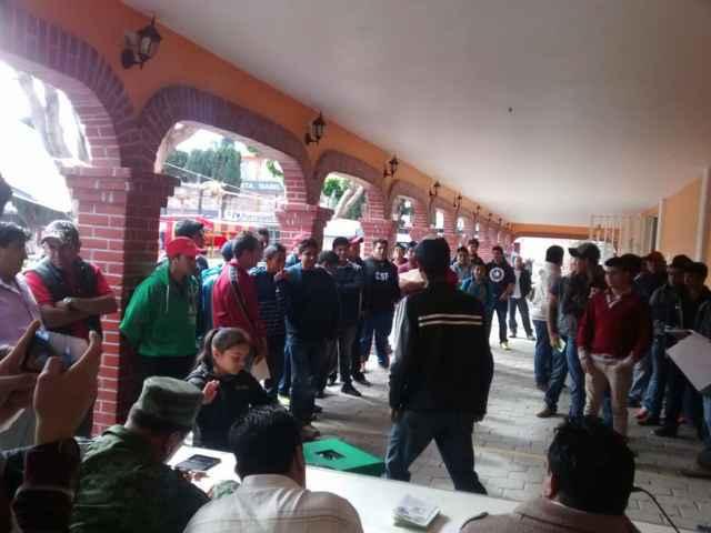 SEDENA Y Ayuntamiento de Tetlatlahuca realizaron sorteo militar