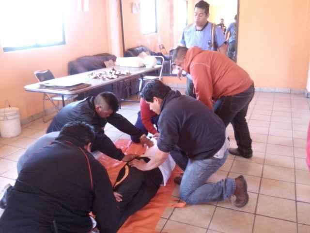Concluye curso básico de primeros auxilios