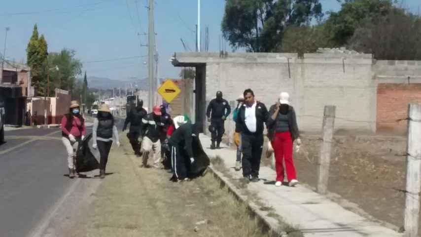 "Alcalde EST se suma a la jornada ""por un Tlaxcala limpio"""