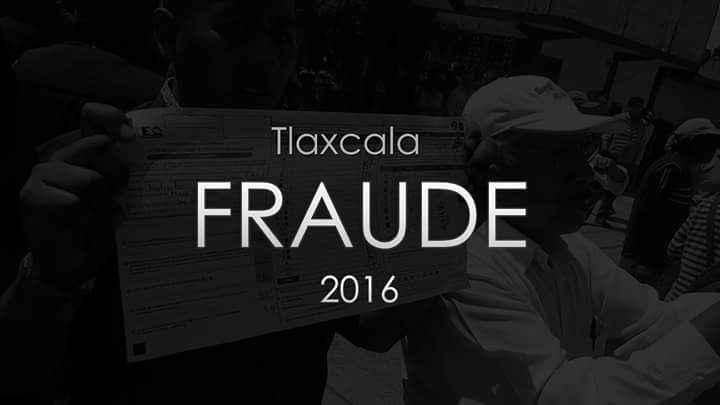 #FraudeTlaxcala, denuncian redes sociales al mundo