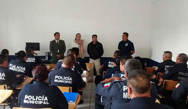 Continúan capacitando a elementos de Seguridad Pública de Huamantla