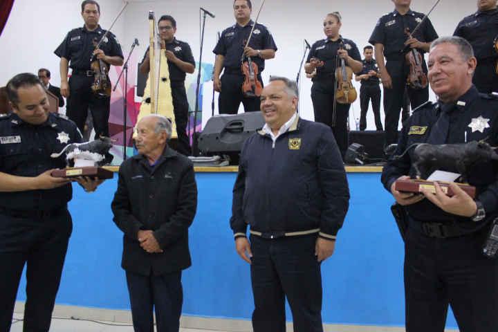 Un éxito la presentación del Mariachi de la PF en Huamantla