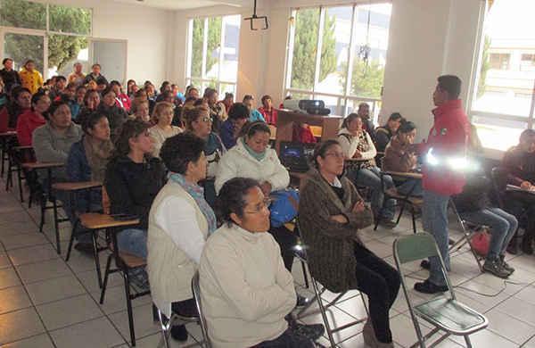 Capacita Protección Civil de Huamantla a Instancias Infantiles