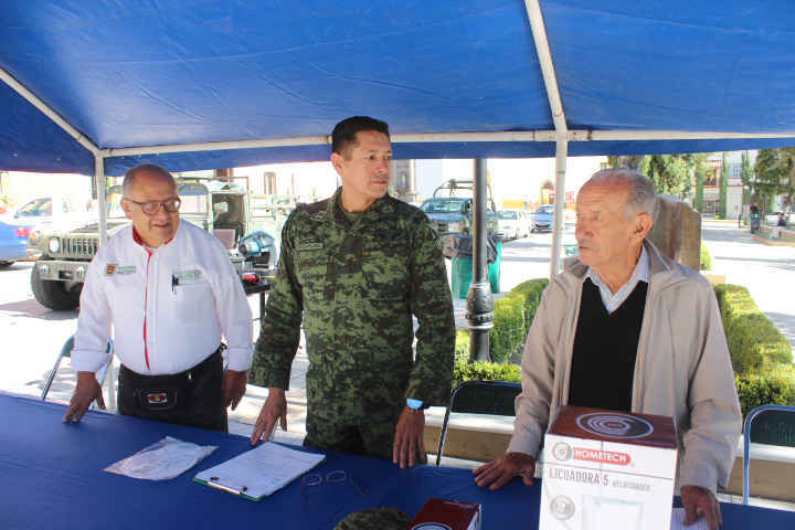 Da inicio en Huamantla campaña  de canje de armas de fuego