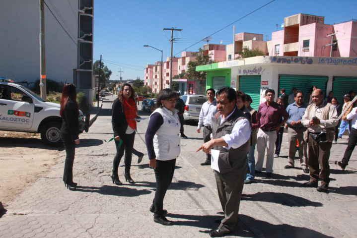Con empleo temporal inauguran obras de impacto social en Xaloztoc