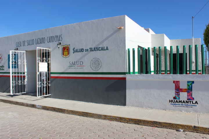 Ayuntamiento de Huamantla entrega Casa de Salud