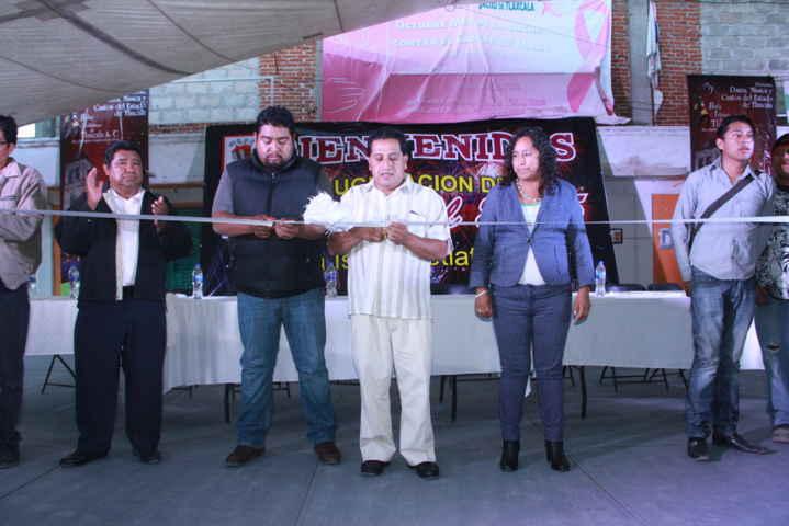 Alcalde Inaugura tradicional feria en honor a Santa Isabel