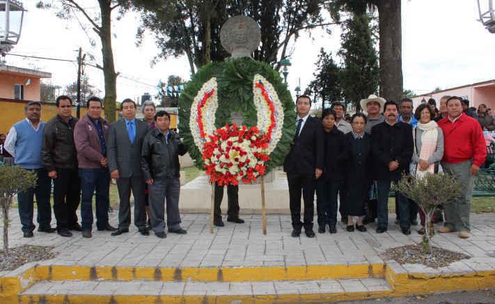 Conmemoran el CDLXXXI Aniversario de la fundación de Huamantla