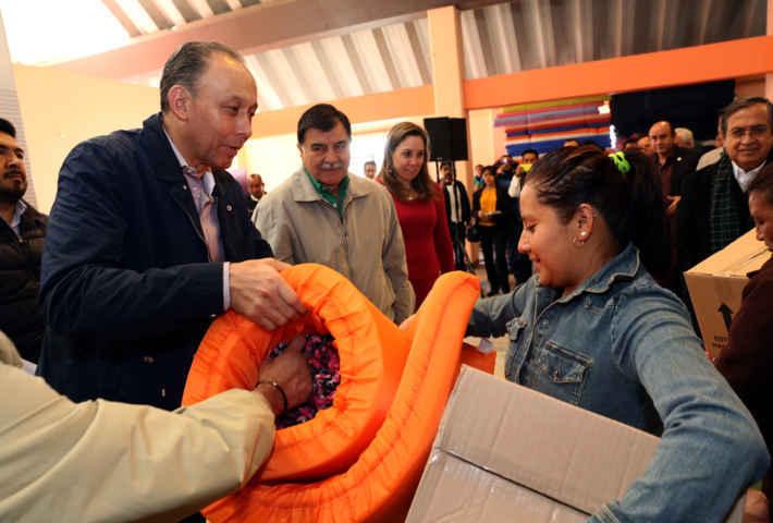 Familias tlaxcaltecas reciben apoyos por declaratoria de emergencia