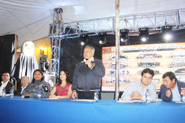 Presentan Programa de Feria Huamantla 2016