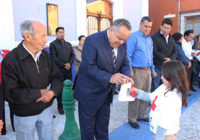 Inician en Huamantla Colecta de Cruz Roja 2016