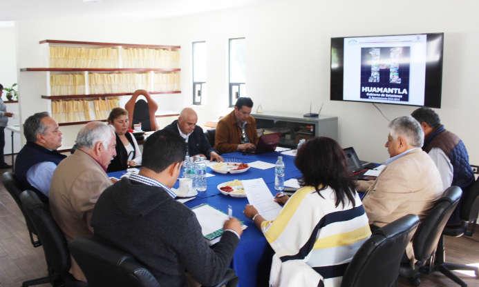 Realizan en Huamantla Reunión del H. Consejo Directivo de CAPAMH