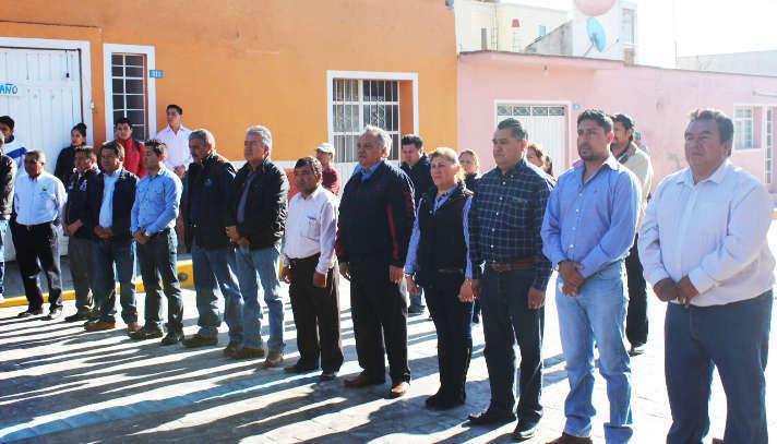Gobierno continúa entregando obras en beneficio de Huamantla