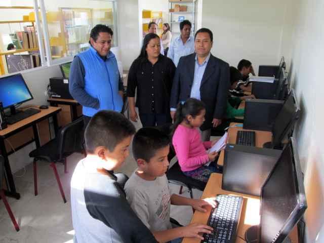 Cuenta Tetlanohcan con biblioteca digital