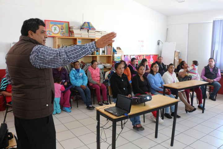 La Coordinación de Salud Municipal y Coeprist visitan comedores escolares de Contla