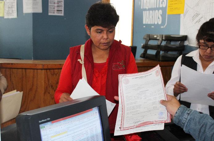 Registro Civil de Huamantla, de los más activos en el Estado
