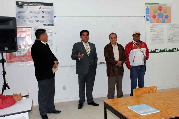 Anuncia VHR construcción de techumbres en Escuelas de Calpulalpan