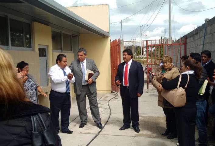 Inaugura TVV rehabilitación de sanitarios en Telesecundaria