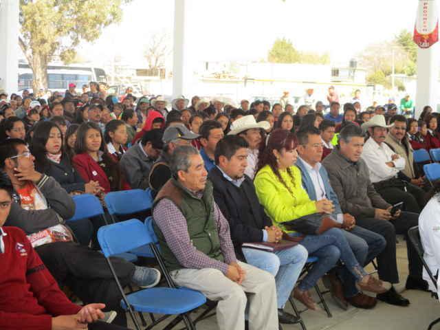 EMSAD Santa Cruz Pocitos festeja inauguración de techumbre
