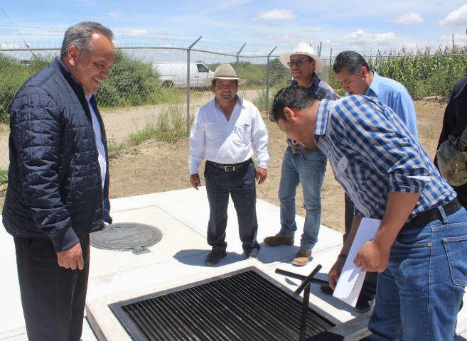 Inaugura JAAL planta tratadora de aguas residuales