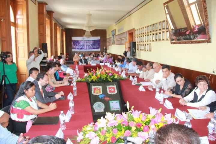Reafirma Calpulalpan Hermanamiento con Municipios del Estado de Puebla e Hidalgo