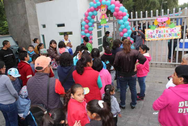 Grandioso festejo del Día del Niño en Zacualpan