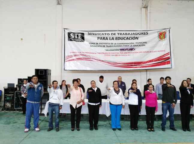 El STE toma fuerza en Tlaxcala y se expande en sus municipios