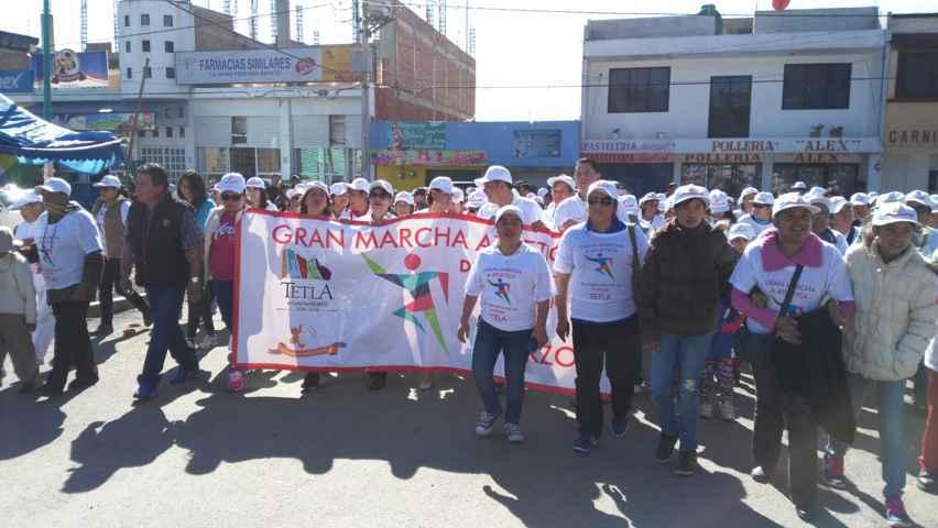 Conmemoran Día Internacional de la Mujer en Tetla