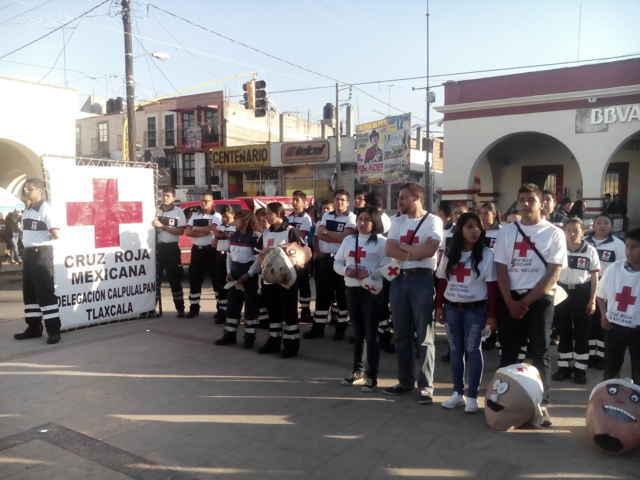 Arranca en Calpulalpan Colecta Nacional Cruz Roja 2016